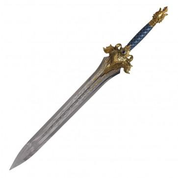 World of Warcraft Sword Replica King Llane spada in acciaio