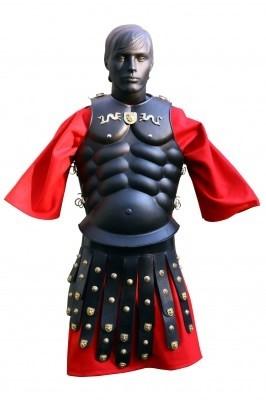 Busto in acciaio e pelle Royal Muscolada con Cingulum