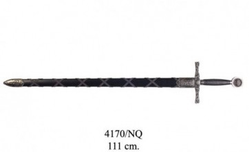 Spada Excalibur di Re Artù Fodero Nero