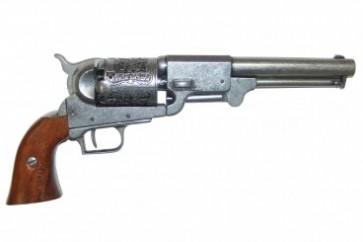 Denix pistola da collezione Dragon revolver 1848 (grigia)