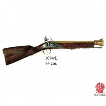 Fucile Trabuco a pietra focaia, Inghilterra XVIII sec.