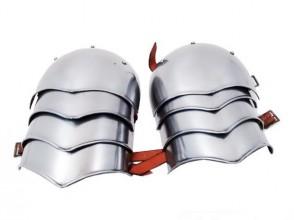 Coppia Spallacci in Metallo
