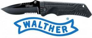 COLTELLO WALTHER PPX BLACK 5.0766