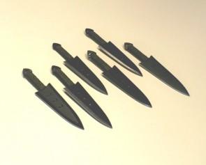 Coltelli da lancio ninja set 6 bpezzi